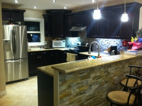 Full modern kitchen reno