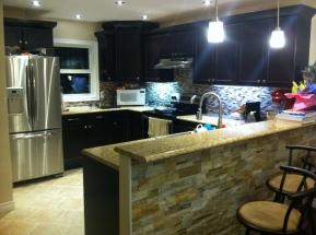 Full modern kitchen reno