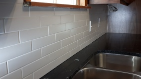 Tile backsplash 2