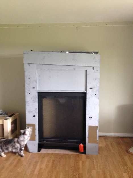 fireplace install before