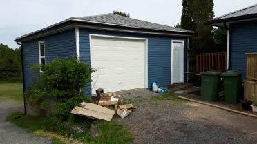 garage remodel after