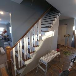 staircase rebuild